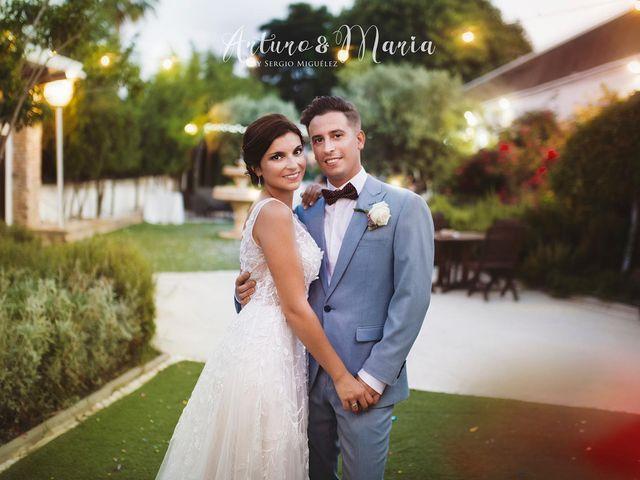La boda de Arturo y Maria en Cartagena, Murcia 2