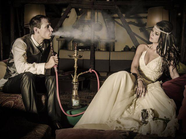 La boda de Celia y Antoine