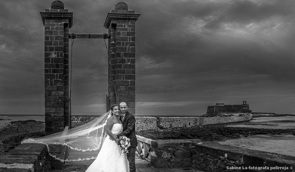 La boda de Jacopo y Azahara en Playa Blanca (Yaiza), Las Palmas