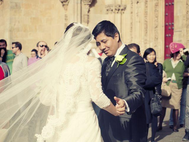 La boda de Javier y María en Salamanca, Salamanca 8