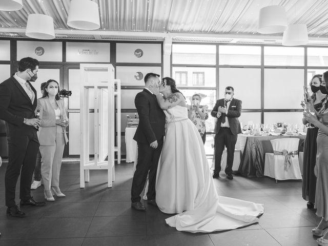 La boda de Javi y Cova en Colloto (Siero), Asturias 59
