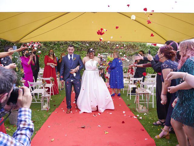 La boda de Javi y Cova en Colloto (Siero), Asturias 79