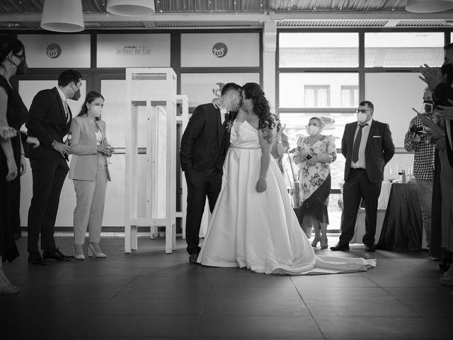 La boda de Javi y Cova en Colloto (Siero), Asturias 85