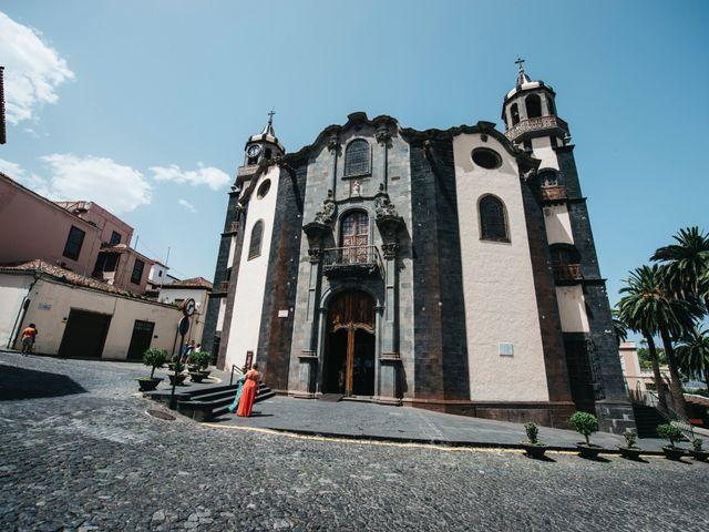 La boda de Néstor y Carmen en Puerto De La Cruz, Santa Cruz de Tenerife 20