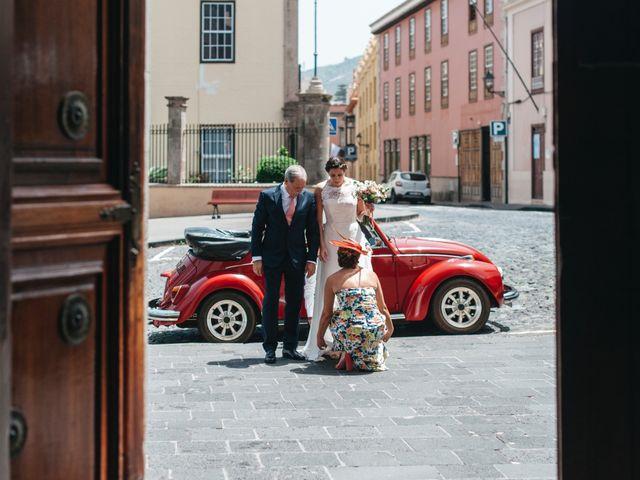 La boda de Néstor y Carmen en Puerto De La Cruz, Santa Cruz de Tenerife 27