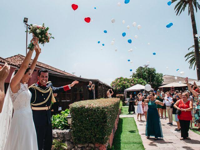 La boda de Néstor y Carmen en Puerto De La Cruz, Santa Cruz de Tenerife 43