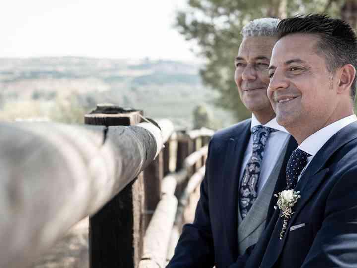 La boda de Jose y Goro