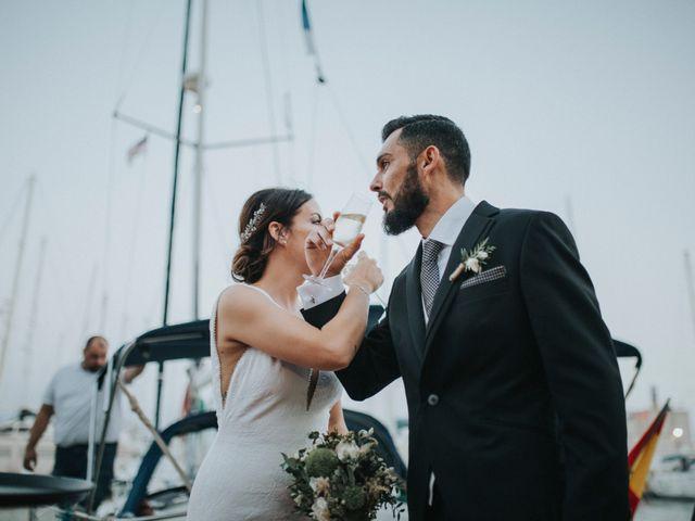 La boda de Carlos y Jessica en Almería, Almería 54