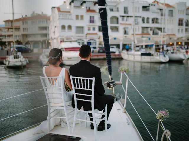 La boda de Carlos y Jessica en Almería, Almería 51