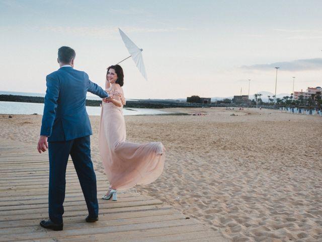 La boda de Oscar y Marian en Salinas Del Carmen, Las Palmas 5