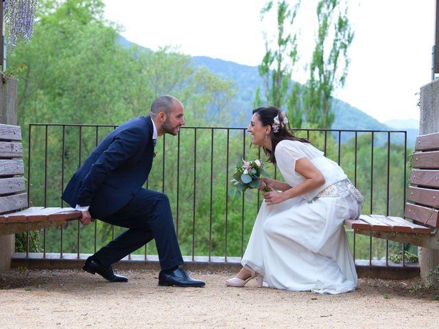 La boda de Martí  y Lorena  en Sant Joan De Les Abadesses, Girona 13
