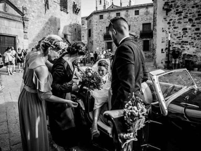 La boda de Cristina y Luis en Cáceres, Cáceres 27