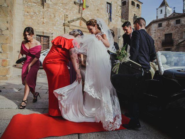 La boda de Cristina y Luis en Cáceres, Cáceres 28