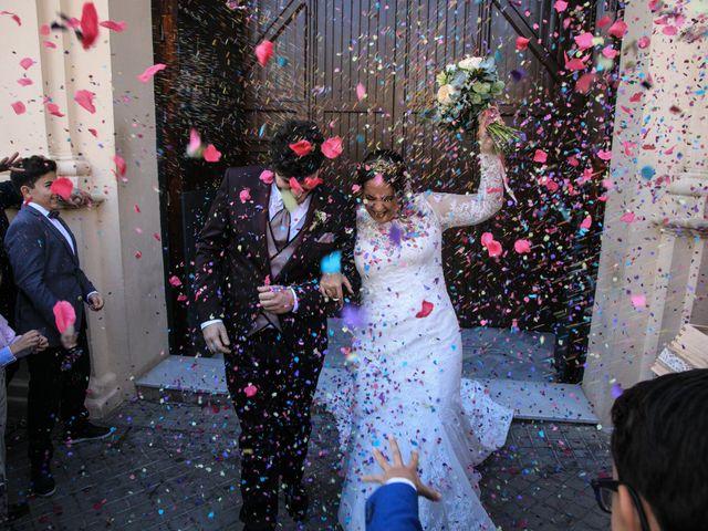 La boda de Carmen y Rafael en Huelva, Huelva 19