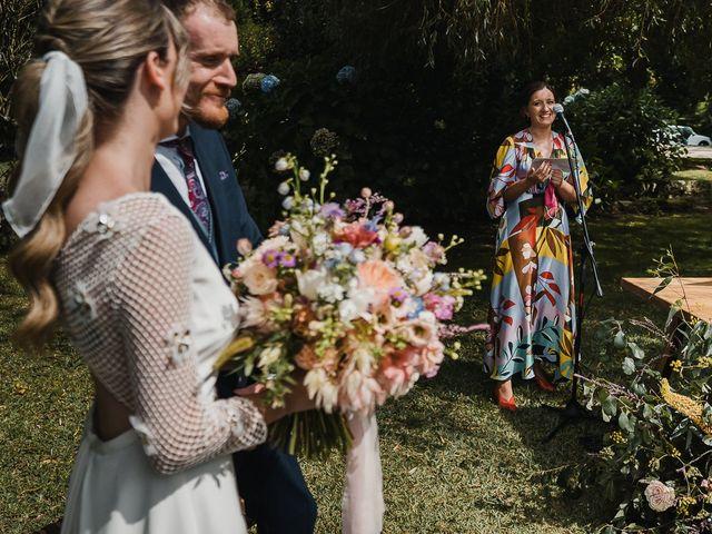 La boda de Santi y Lore en Nigran, Pontevedra 42