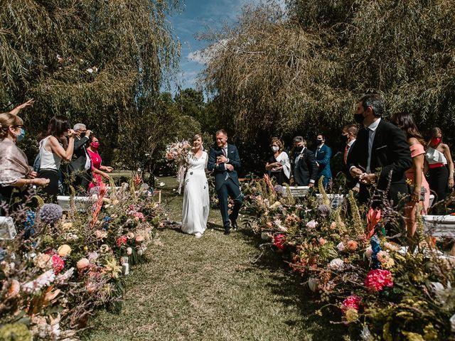 La boda de Santi y Lore en Nigran, Pontevedra 54