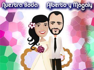 La boda de Magaly y Alberto 2