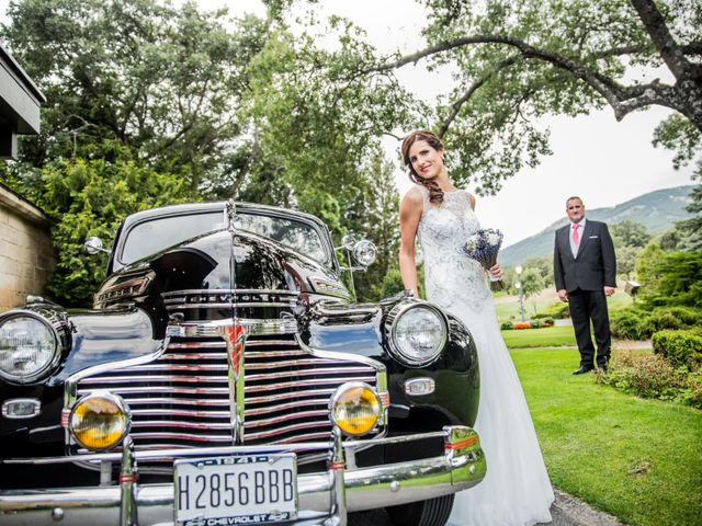 La boda de Gabriel y Laura en San Lorenzo De El Escorial, Madrid 5