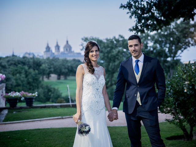 La boda de Gabriel y Laura en San Lorenzo De El Escorial, Madrid 11