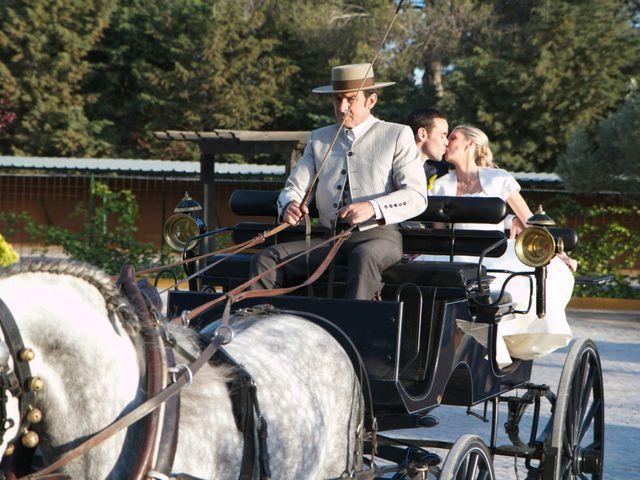 La boda de Adrián y Ana en Torrelaguna, Madrid 1