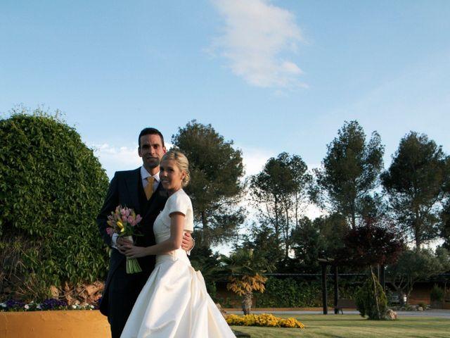 La boda de Adrián y Ana en Torrelaguna, Madrid 2