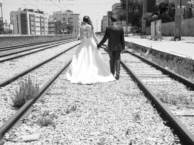 La boda de Cristina y Alonso