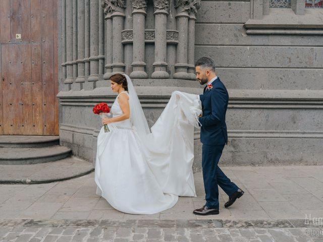 La boda de Rubén  y Tania en Arucas, Las Palmas 2