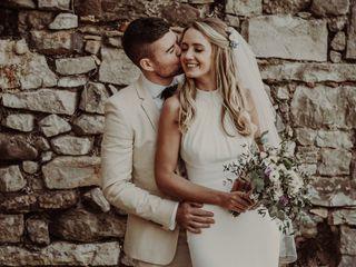 La boda de Cath y Andrew