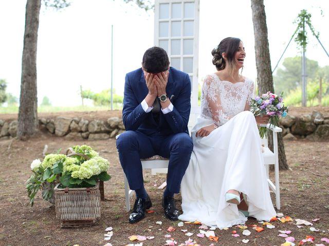 La boda de Borja y Noemi en Olerdola, Barcelona 14