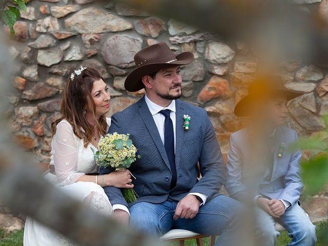 La boda de Leonor y David
