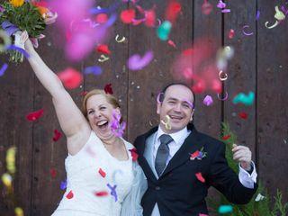 La boda de Marina Di Vito y Luis Martín Romeral