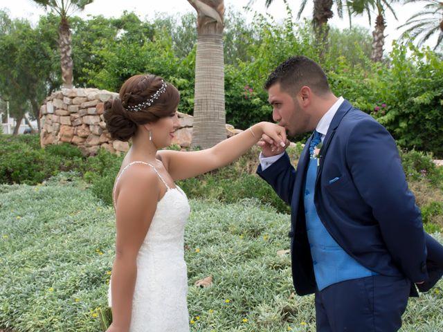 La boda de Victor y Johana en Almería, Almería 24
