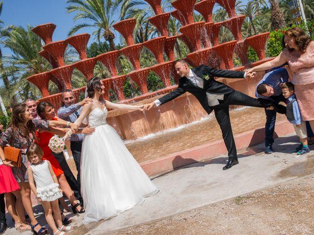 La boda de Yonut y Carmen Elena en Elx/elche, Alicante 60