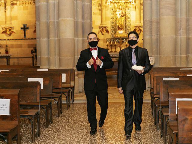 La boda de Wallys y Carla  en Barcelona, Barcelona 2