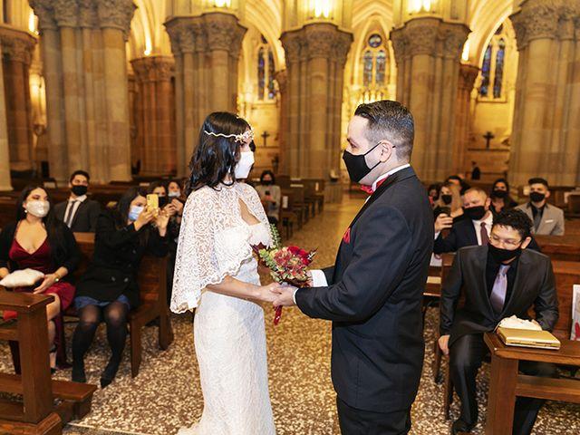 La boda de Wallys y Carla  en Barcelona, Barcelona 5