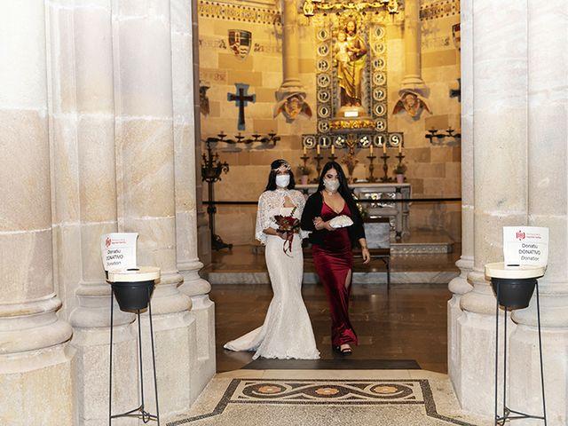 La boda de Wallys y Carla  en Barcelona, Barcelona 6