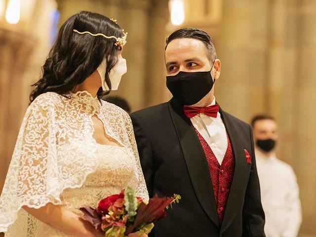 La boda de Wallys y Carla  en Barcelona, Barcelona 8