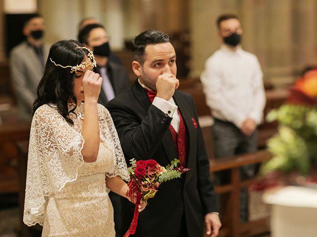 La boda de Wallys y Carla  en Barcelona, Barcelona 10