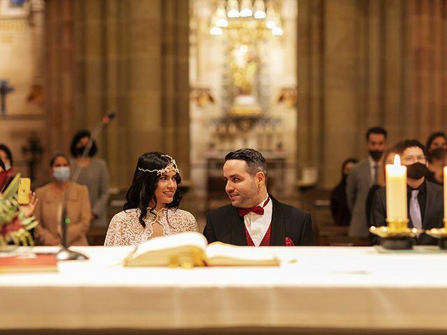 La boda de Wallys y Carla  en Barcelona, Barcelona 11