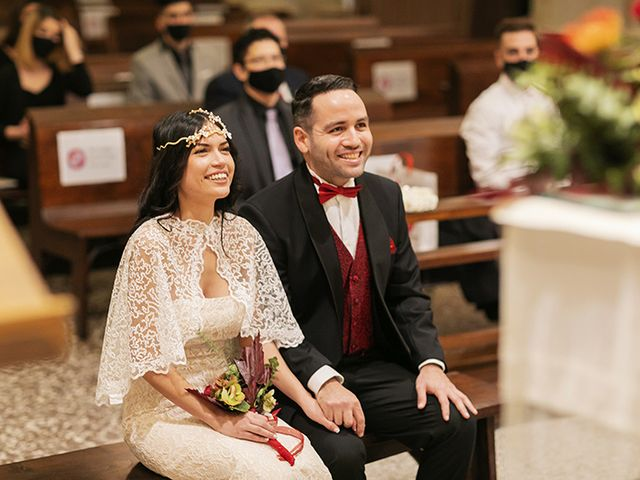 La boda de Wallys y Carla  en Barcelona, Barcelona 12
