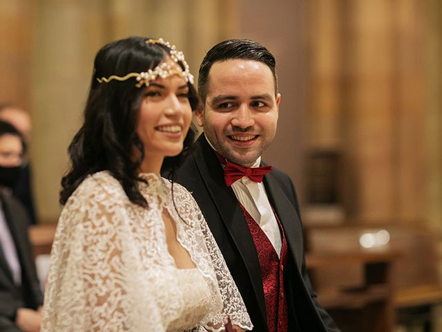 La boda de Wallys y Carla  en Barcelona, Barcelona 13