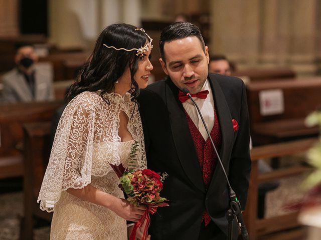 La boda de Wallys y Carla  en Barcelona, Barcelona 15