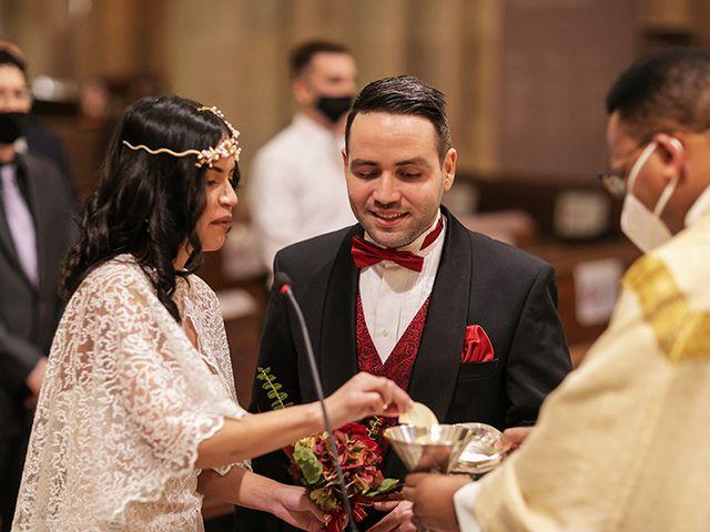 La boda de Wallys y Carla  en Barcelona, Barcelona 22