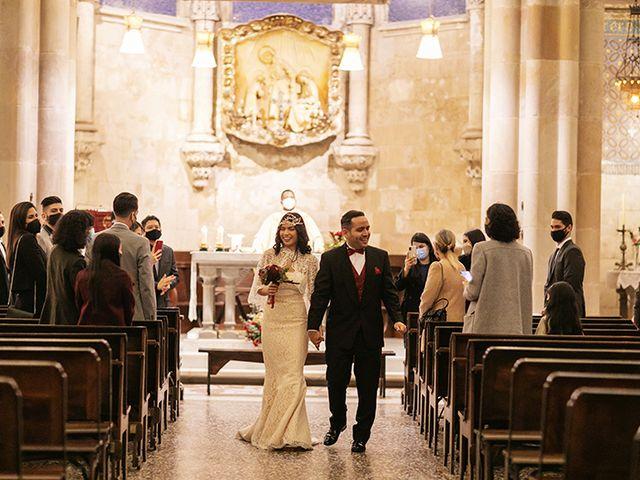 La boda de Wallys y Carla  en Barcelona, Barcelona 30
