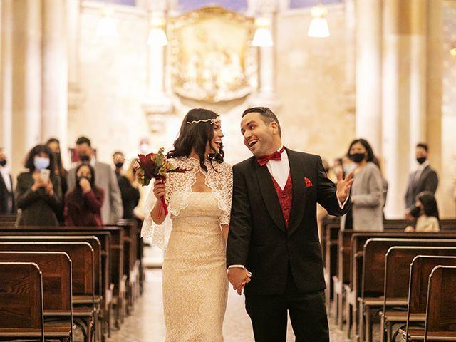 La boda de Wallys y Carla  en Barcelona, Barcelona 33