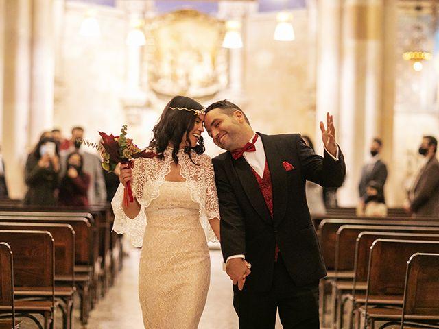 La boda de Wallys y Carla  en Barcelona, Barcelona 34