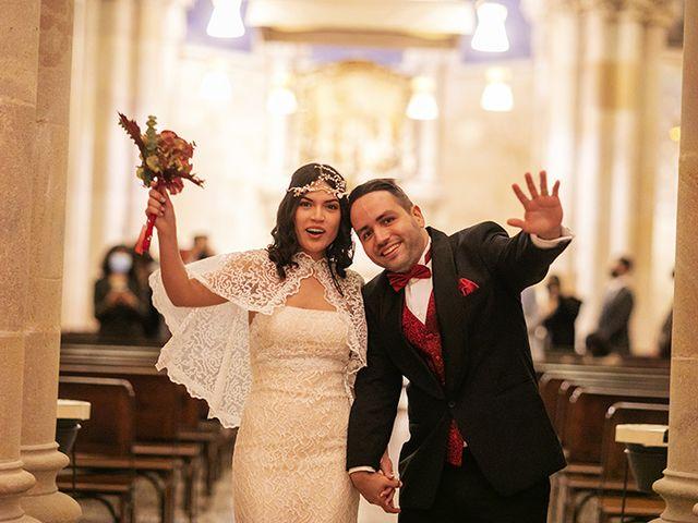 La boda de Wallys y Carla  en Barcelona, Barcelona 35