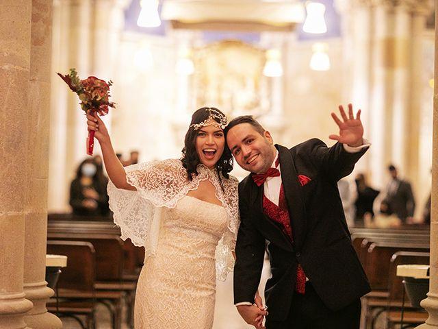 La boda de Wallys y Carla  en Barcelona, Barcelona 36