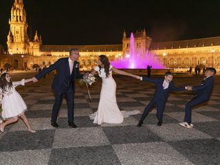La boda de Marta y Gareth