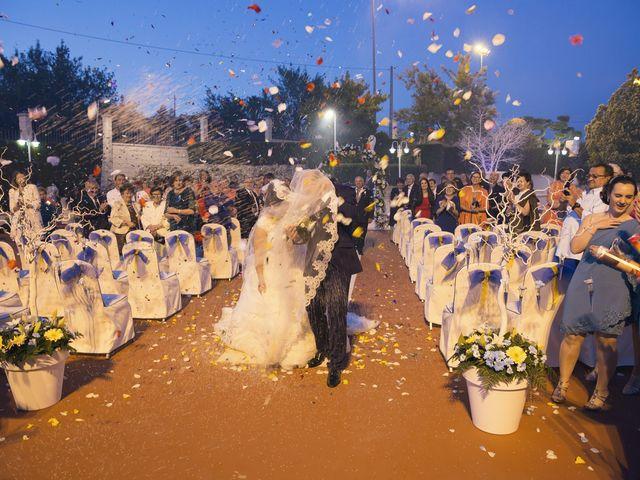La boda de Vicente y Maria en Benigánim, Valencia 35